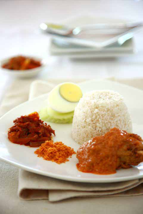 Madame Kwan's Nasi Lemak - photo from Madam Kwan's