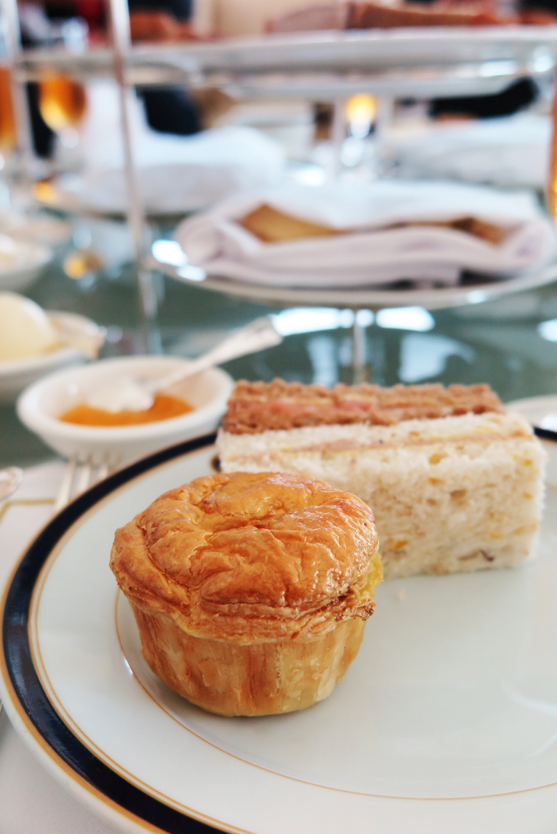 The dorchester collection afternoon tea at the empire for Club sandwich fillings for high tea