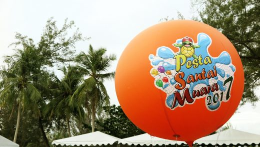 A Beachy Weekend at Pesta Santai Muara 2017