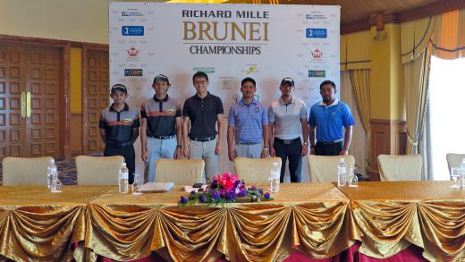 Top Local Amateur Golfers to Take Part in the Richard Mille Brunei Championships, 7 to 10 March 2018