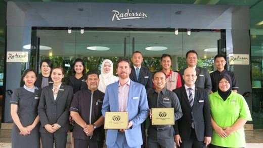 Radisson Hotel Brunei Darussalam Wins Awards at the ASEAN Tourism Forum 2018