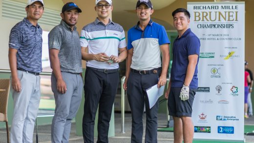 Richard Mille Brunei Championships (RBMC) Golf Camp for Top Local Golfers