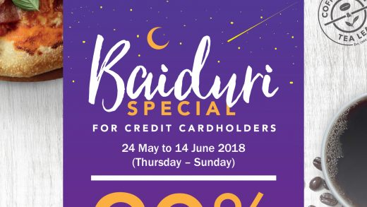 Baiduri Credit Cardholders In For Another Sweet Deal