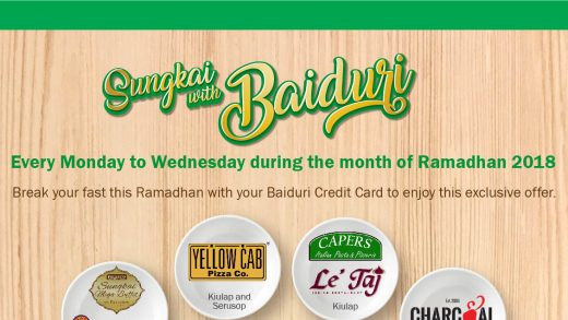 Baiduri Cardmembers on the Receiving End of Exclusive Sungkai Promotions
