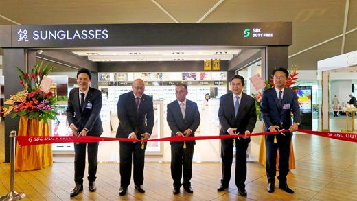 Brunei's First Duty Free Shop Launched at the Brunei International Airport
