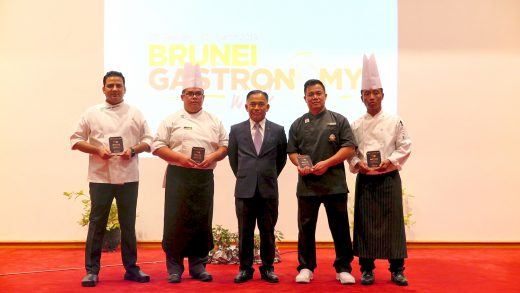 Winners of BGW2018 Awarded at the Brunei Gastronomy Award Ceremony