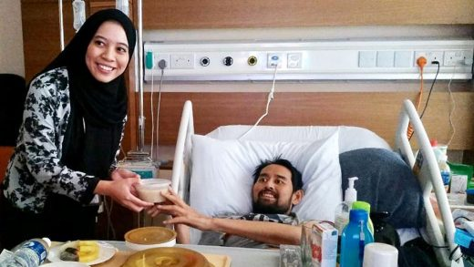 Royal Brunei Catering Delivers Bubur Lambuk to PJSC Patients