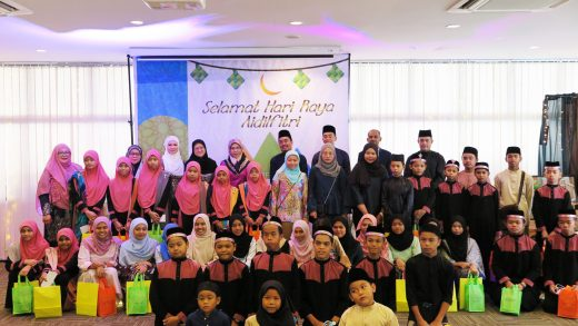 Peak Performance Celebrates Its One Year Anniversary With Baitul Amanah and Ri'ayah Wa Mahabbah