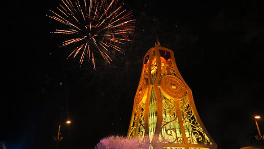 Jerudong Park's Spectacular Fireworks Display Go Up with a Bang