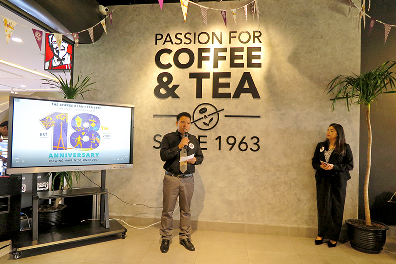 The Coffee Bean & Tea Leaf® Brunei Celebrates Milestone