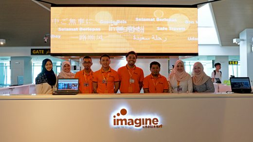 Newly Re-branded Telco 'imagine' Opens at Brunei International Airport