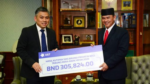 DST and DST Subscribers Contribute a Total of BND$315,824 to Tabung Anak-Anak Yatim 2020